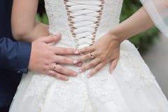 руки wedding Стоковое Фото