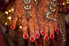 руки wedding Стоковые Изображения RF