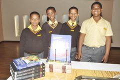 Руководители начальной школы Caritas в Uitenhage стоковое изображение
