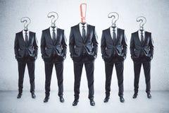 Руководитель и концепция доверия иллюстрация вектора