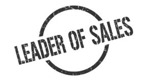 Руководитель штемпеля продаж бесплатная иллюстрация
