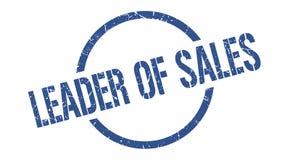 Руководитель штемпеля продаж иллюстрация штока