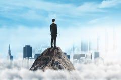Руководство и концепция успеха Стоковые Фото