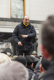 Руководитель Andrey Paruby национально-освободительного движения стоковая фотография