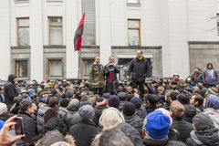 Руководитель Andrey Paruby национально-освободительного движения Стоковое Изображение RF