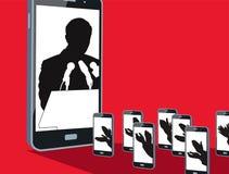 Руководство в цифровом веке иллюстрация штока