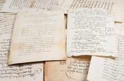 Рукописи стоковое изображение rf
