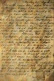 рукопись старая Стоковое Фото