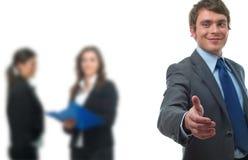 рукопожатие бизнесмена Стоковые Изображения RF
