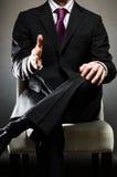 Рукопожатие бизнесмена Стоковое Изображение RF