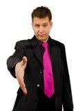 рукопожатие бизнесмена стоковые изображения