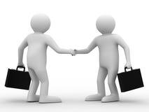 рукопожатие бизнесменов встречая 2 Стоковая Фотография RF
