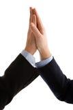 рукопожатие бизнесменов содружественное Стоковые Фото