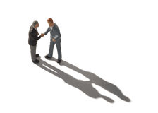 рукопожатие бизнесменов Стоковое фото RF