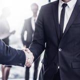 Рукопожатие бизнесменов Стоковые Изображения RF