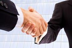Рукопожатие делового партнера Стоковая Фотография