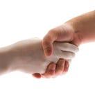 рукопожатие доктора pacient Стоковая Фотография