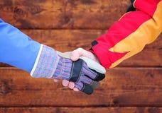 Рукопожатие дела стоковые фотографии rf