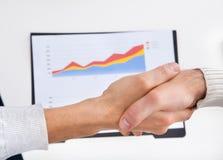 Рукопожатие делового партнера Стоковое фото RF