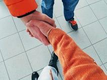 Рукопожатие на встрече Стоковое фото RF
