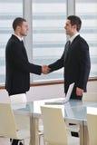 Рукопожатие на деловой встрече Стоковое Изображение