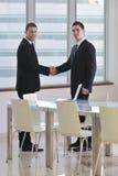 Рукопожатие на деловой встрече Стоковая Фотография RF