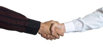 рукопожатие предпринимателей Стоковые Фото