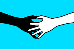Рукопожатие 2 иллюстрация вектора