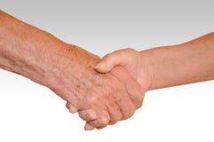 Рукопожатие Стоковая Фотография