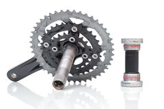 Рукоятка велосипеда Стоковое Изображение RF