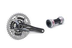 Рукоятка велосипеда Стоковая Фотография