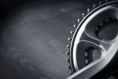 Рукоятка гонок велосипеда Стоковое фото RF