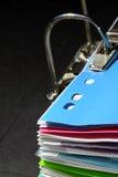 рукоятка скоросшивателя свода Стоковые Фотографии RF