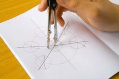 Рукоятка с trammel Стоковое Фото