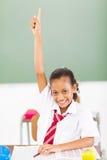 Рукоятка школьницы вверх Стоковое Изображение RF