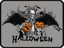 рукоятка halloween Стоковые Изображения RF