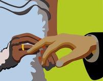 рукоятки 2 Стоковое Изображение RF