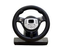 рулевое колесо компьютера Стоковая Фотография RF