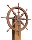 рулевое колесо корабля Стоковое Изображение