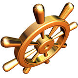 рулевое колесо корабля s Стоковые Фото