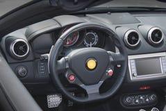 рулевое колесо приборной панели Стоковая Фотография RF