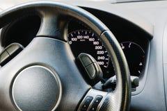 рулевое колесо приборной панели Стоковое Изображение