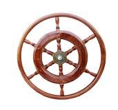 Рулевое колесо шлюпки Стоковое фото RF