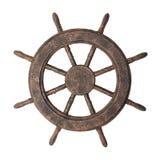 рулевое колесо шлюпки Стоковое Изображение RF