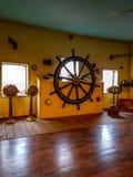 Рулевое колесо ` s капитана Стоковые Изображения RF