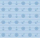 рулевые колеса картины анкеров Стоковые Изображения RF