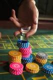 рулетка казино стоковые изображения rf