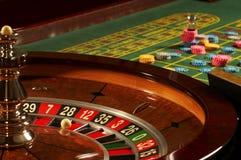 рулетка казино стоковые фото