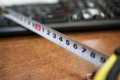 Рулетка конструкции стоковое изображение rf