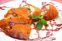 рулетка мяса Стоковое Фото